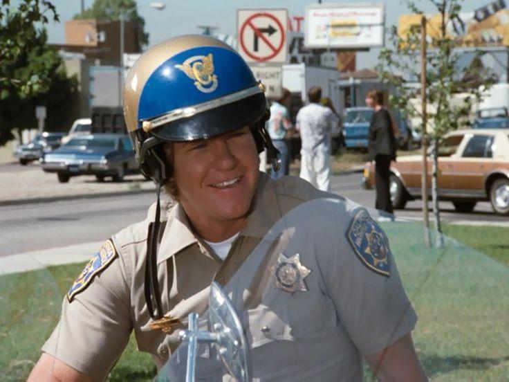 """Larry Wilcox as officer Jon Baker in """"CHiPs"""""""