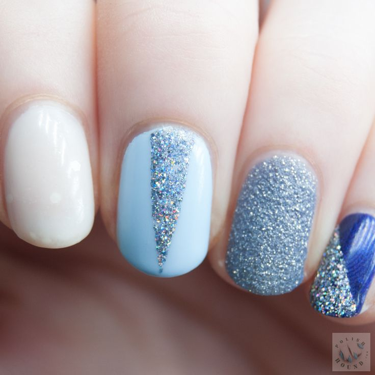 Polish Hound: Color Palettes: Winter [Nail Art]