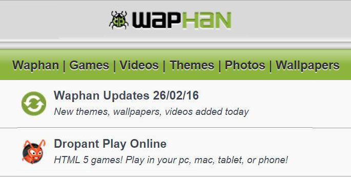 Waphan - Free Games   Music   Videos   Apps   Download