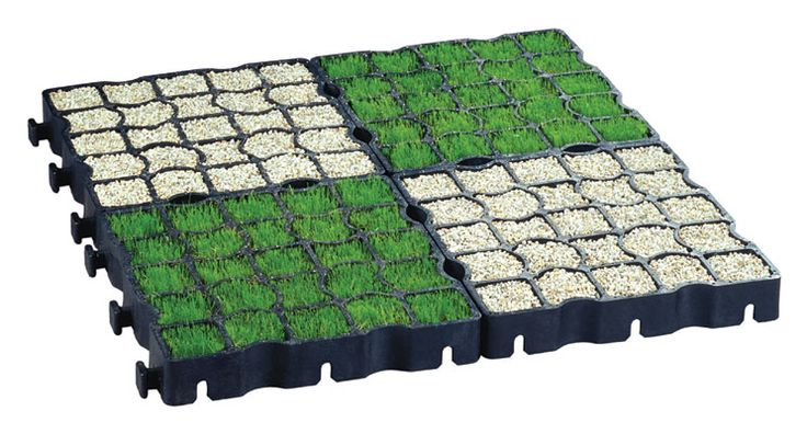 Ecoraster is a great way to build your driveway you can add numerous things to it like grass and gravel.