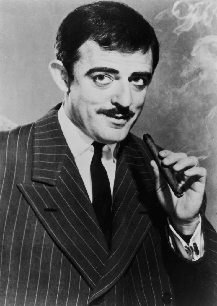 March 30: John Astin - Gomez Addams from 'The Addams Family' (1964 - 1966).