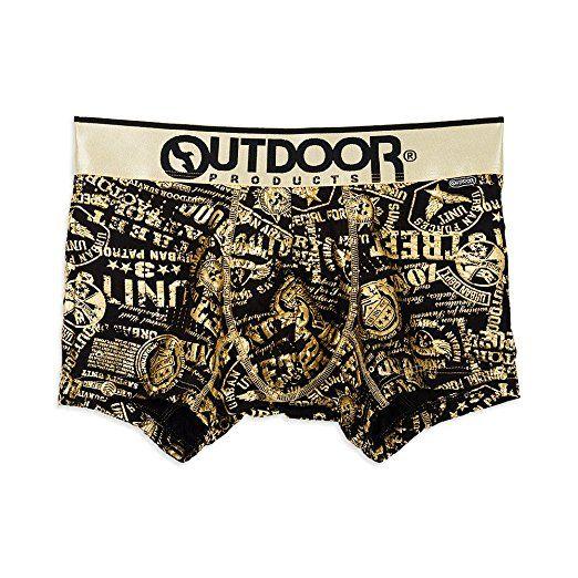 (アウトドアプロダクツ)OUTDOOR PRODUCTS アーミースタンプボクサーパンツ/メンズ AC2011B129 980 ゴールド L