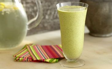 Protein-Rich Smoothie with Wheat Germ and Chia Seeds