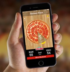 """Fantasy Pizza Launches Slice Madness for the NCAA Basketball Tournament - http://www.trillmatic.com/fantasy-pizza-launches-slice-madness-for-the-ncaa-basketball/ - Slice Madness is a head-to-head game of Fantasy Pizza during the NCAA Basketball Tournament this March. Compete for a chance to be crowned the """"Big Cheese"""" and other great prizes."""