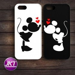 Couple 007 - Phone Case untuk iPhone, Samsung, HTC, LG, Sony, ASUS Brand #couple #phone #case #custom #mickeymouse #minniemouse