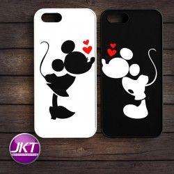 Couple 007 - Phone Case untuk iPhone, Samsung, HTC, LG, Sony, ASUS Brand #couple #phone #case #custom #mickeymouse #minniemouse