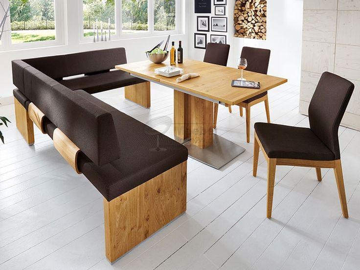 Venjakob IM PULS Eckbank Rückenlehne P1 oder P3 IMPULS Sitzbank für Esszimmer Speisezimmer Konfigurator Bezug und Größe wählbar