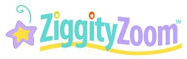 Ziggity Zoom logo on line stories