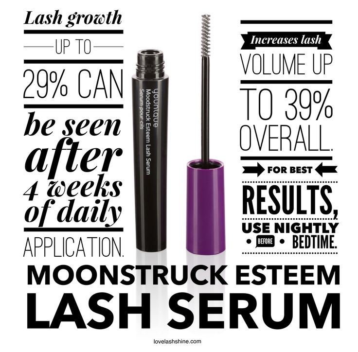 Younique's new Esteem Lash Serum helps grow lashes.  Get your customer account now and be ready when this sweet thing goes public!  www.youniqueproducts.com/HollyHeronimus