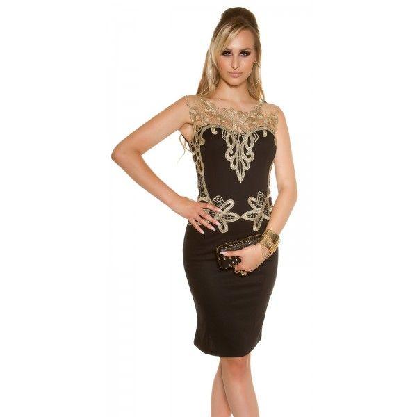 3b16905f0f78 Spoločenské šaty s čipkou KouCla - Štýlové šaty