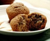 Basic Whole Wheat Muffin Recipe - substitute sugar for unsweetened applesauce and butter for olive oil. Add fruit!