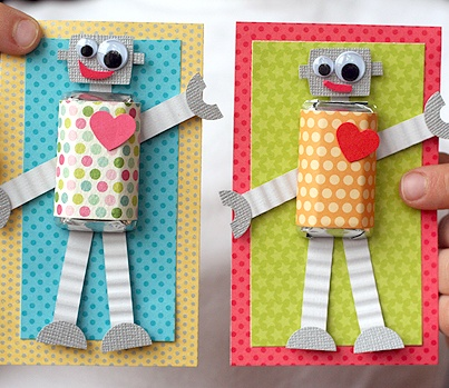 fun valentine cards for kids to make - Google Search
