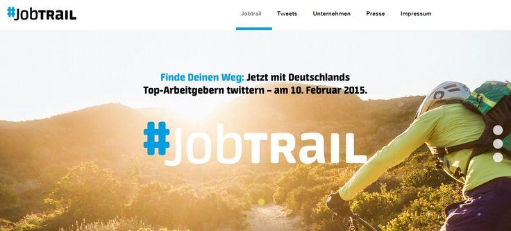 #Jobtrail – die nächste Jobmesse auf Twitter.