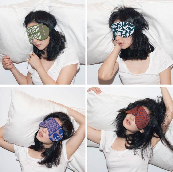 eye mask_made from defective socks