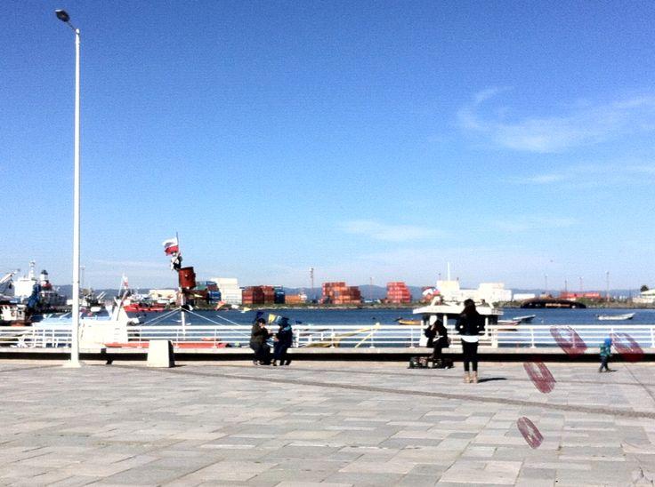 talcahuano port #chile