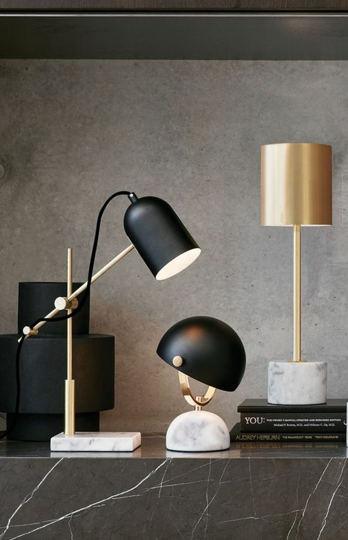 This table lamp with its classic form and functionality is just adorable