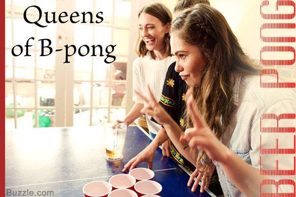 Queens of B-Pong