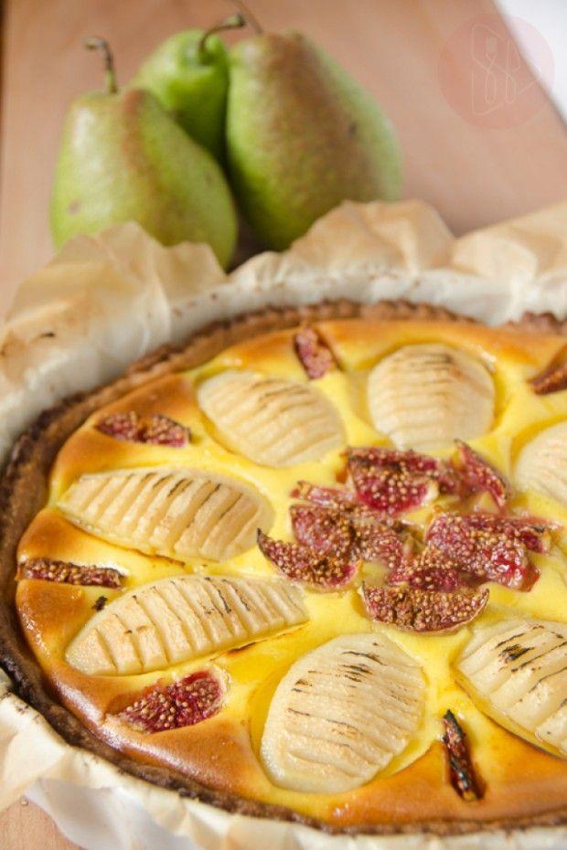 Flan z gruszkami | Sprawdzona Kuchnia