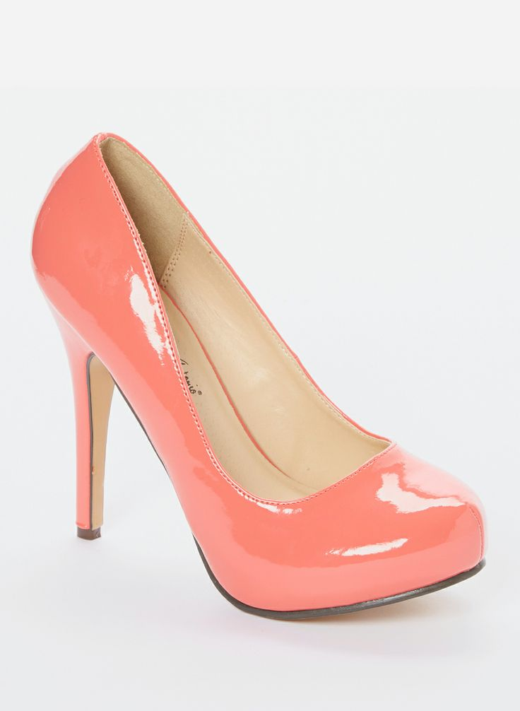 Coral Love Me Pump - Perfect colour pink
