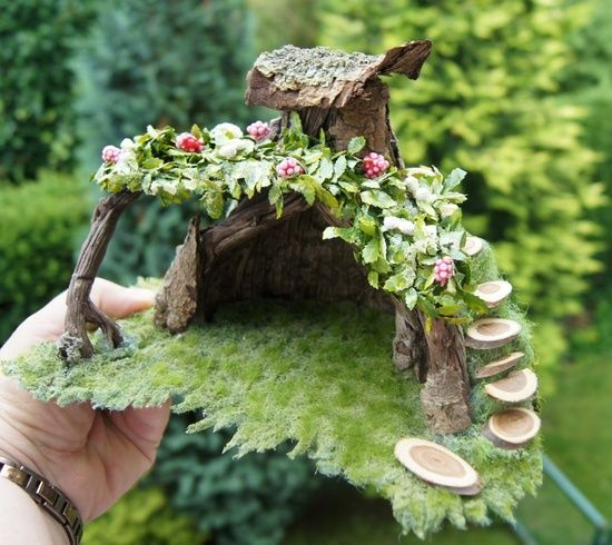 Gnome Garden: 939 Best Images About Gardens For Fairies And Other