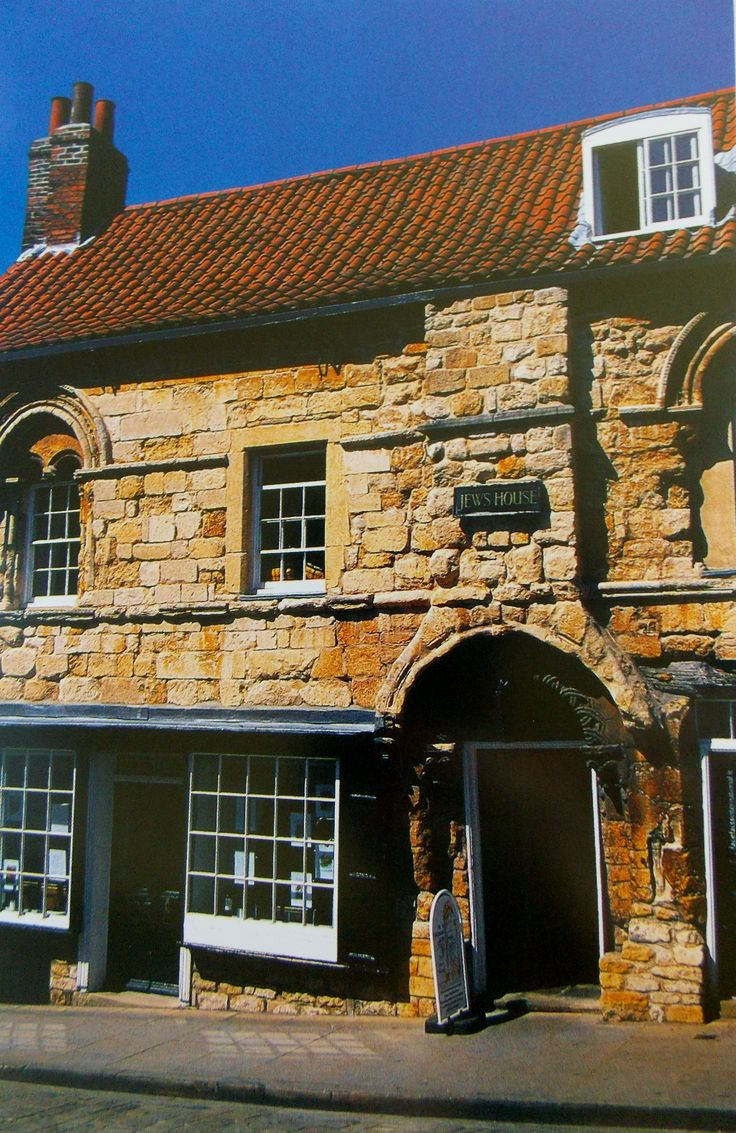 The Jew's House, Lincoln, Lincolnshire, England. The oldest continually inhabited domestic building in Britain, it was built before 1100