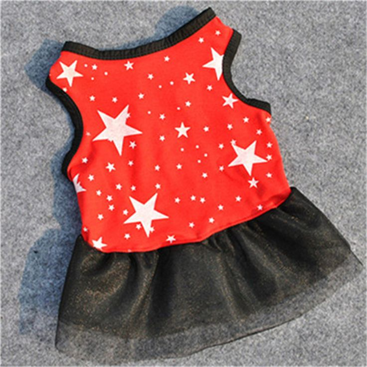 >> Click to Buy << Red&Black Pet Cat dog Lace Prince dress clothes puppy party Costume Apparel dress up skirt Star Lace Vest 2016 new sale #Affiliate
