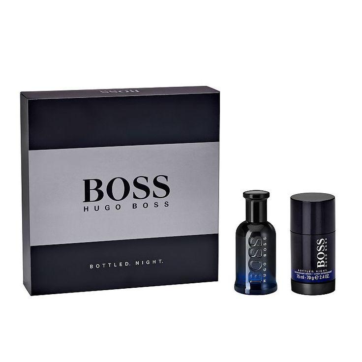 Boss Bottled Night by Hugo Boss Men's Cologne Gift Set, Multicolor