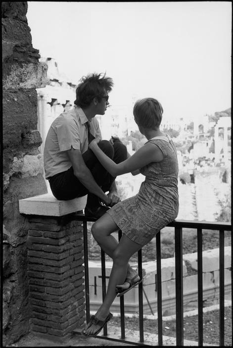 Henri Cartier-Bresson //  Italy   -    Rome. Foro Romano. 1968
