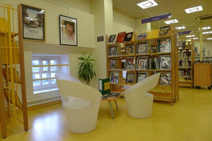 bibliothèque André Malraux - Paris 6e