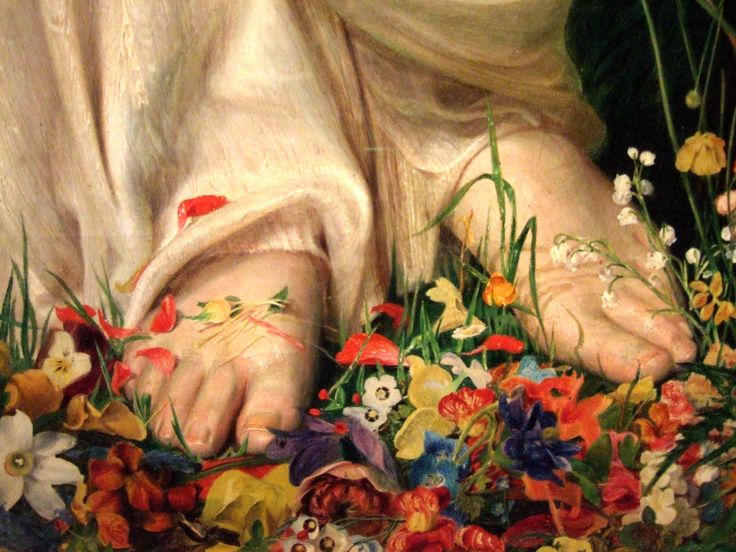 Image result for feet detail painting