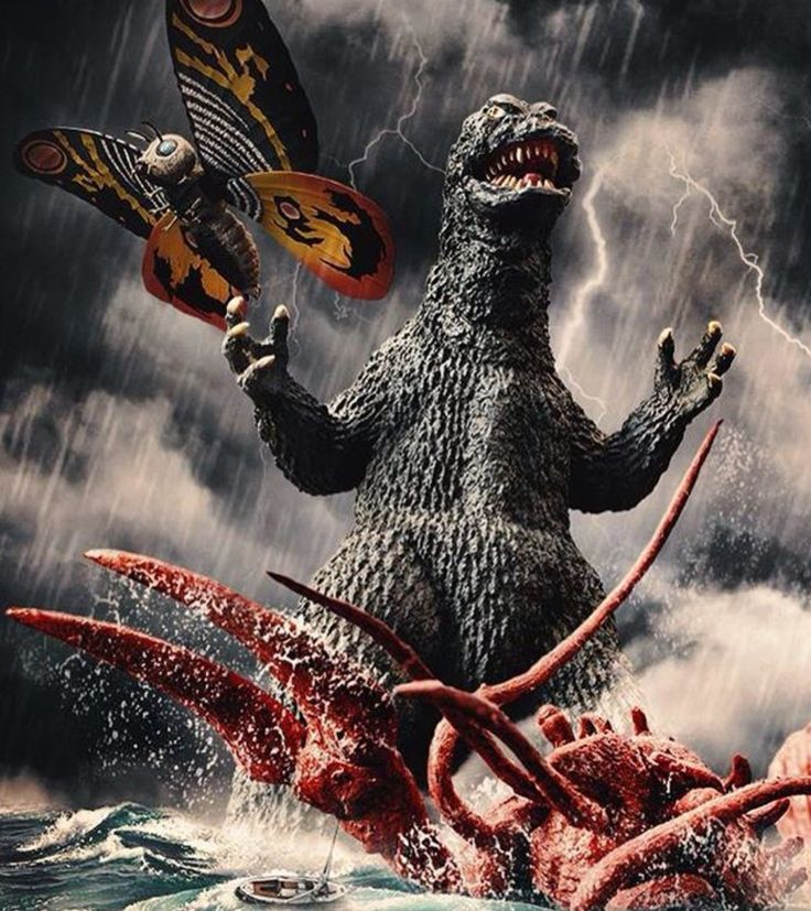 Ebirah, Horror of the Deep (1966), also known as Godzilla vs The Sea Monster