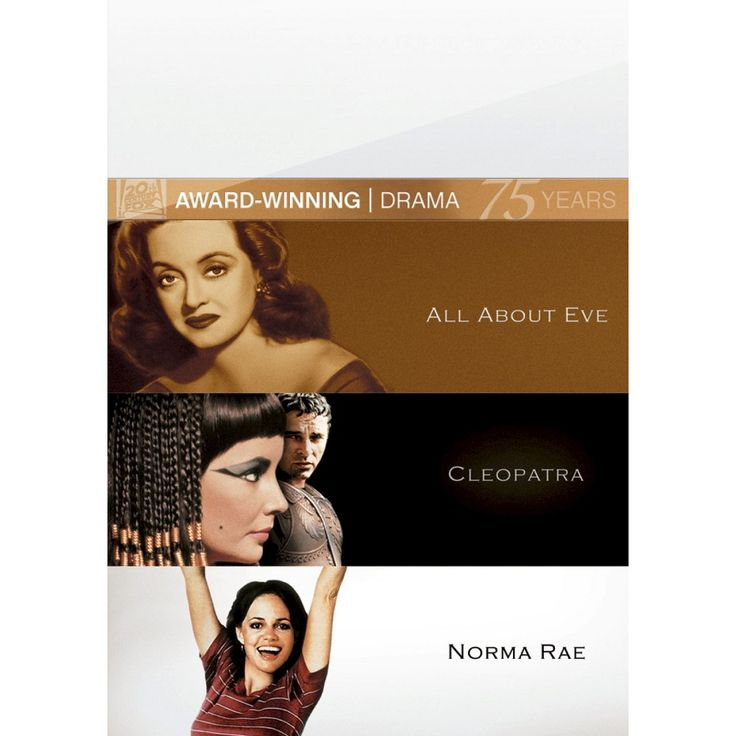 All About Eve/Cleopatra/Norma Rae [Fox 75th Anniversary] [3 Discs]