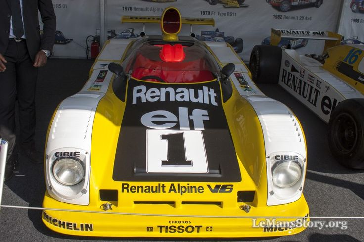 Renault Alpine a443 1978 Le Mans