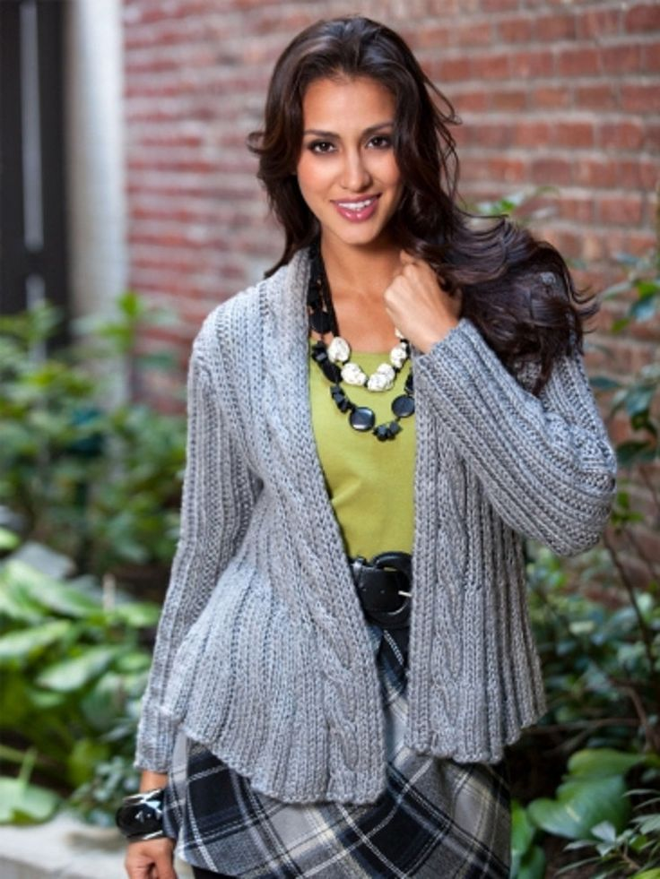 Swing Jacket in Caron Simply Soft - Downloadable PDF Free ...
