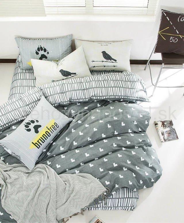Ak máte vo svojom živote radi zmenu, obojstranné posteľné obliečky sa k Vám dokonale hodia. Bez veľkej námahy môžete každý večer zaspávať v inej