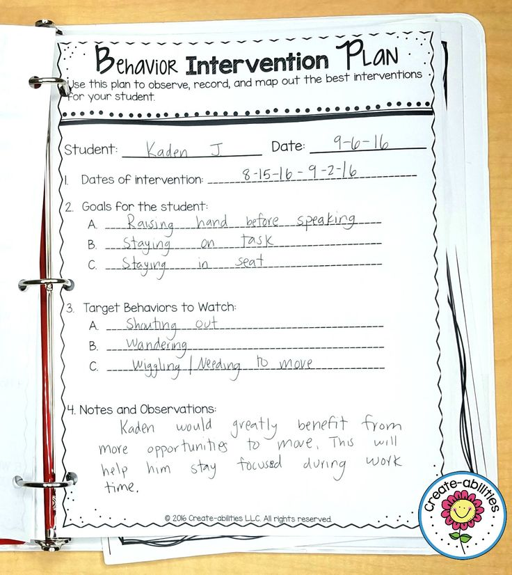 17 Best Behavior Interventions Images On Pinterest | Behavior
