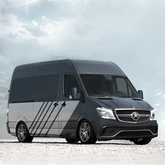 Introducing the all-new Mercedes-AMG Sprinter63 S. A combination of legendary performance and driving dynamics from Mercedes-AMG with the utility and capacity of a Sprinter Van. Ready to attack corners with its AMG custom-engineered sport suspension, the Sprinter63 S is powered by a 503hp handcrafted 4.0-liter biturbo V-8—which means it's also ready to haul a lot more than just cargo. It's exactly what you'd expect of our high performance division, if they were given the keys to a Sprinter…