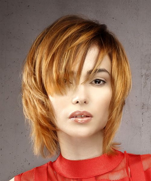 how to cut hair straight yourself