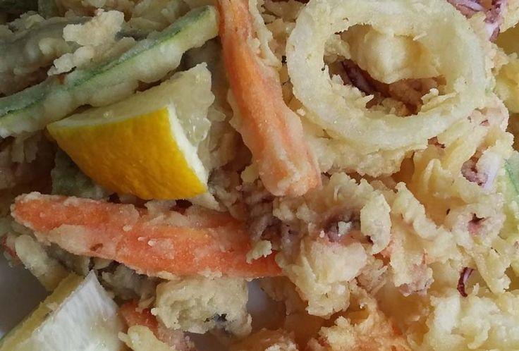 Fritto di pesce e verdure - Ricetta di Sei di Rimini se