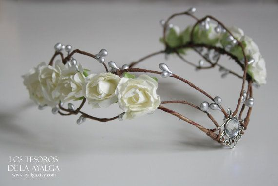 Elven bruid tiara - elven tiara - Elfen crown - fairy circlet