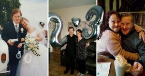 Pareja con síndrome de Down festeja 23 años de feliz matrimonio