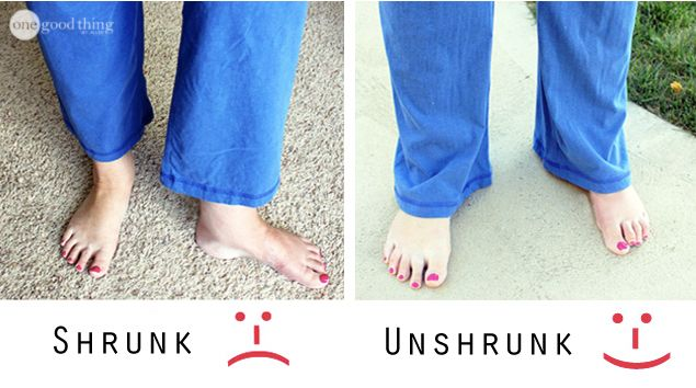 "How to ""Unshrink"" Your Clothes!"