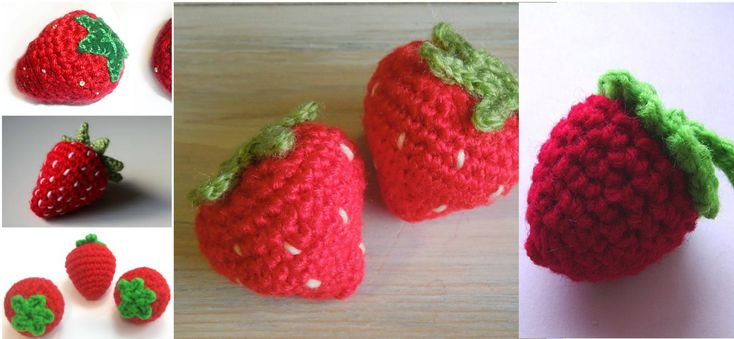 How To Crochet a Strawberry
