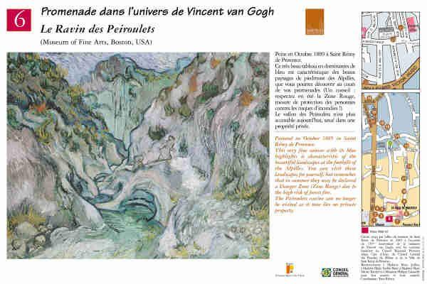 """Le Ravin des Peiroulets"" #peinture #provence #vangogh #saintremydeprovence"