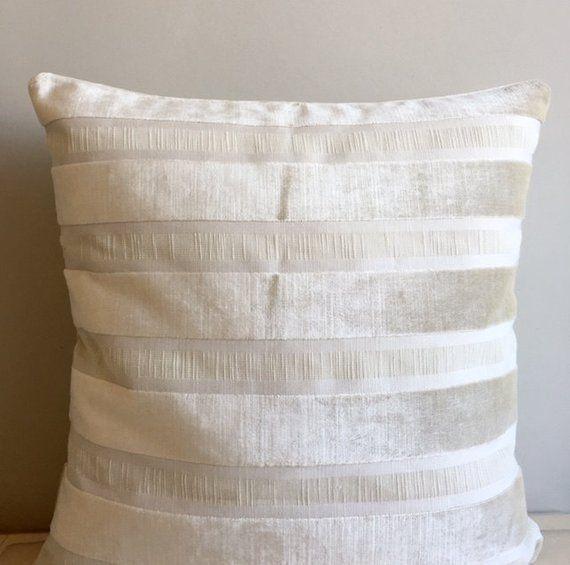 Creamvelvet Pillow Cover Velvet Designer Pillows Throw Pillo