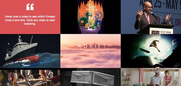 #Vimeo Staff favorites 2013 Collection