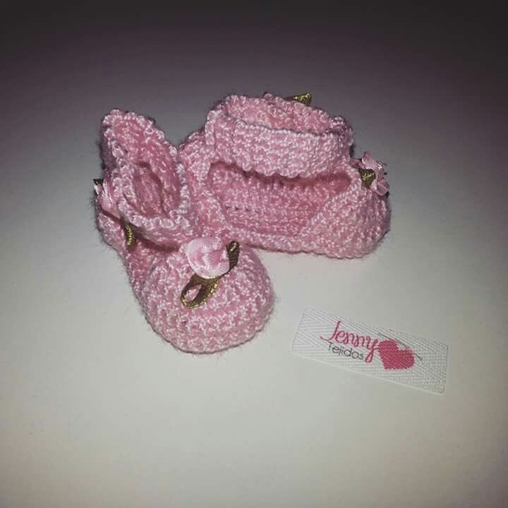 Chalitas tejidas a crochet en hilo algodón