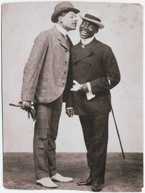 lostsplendor:    Bert Williams and George Walker, date unknown via The Beinecke Rare Book and Manuscript Library