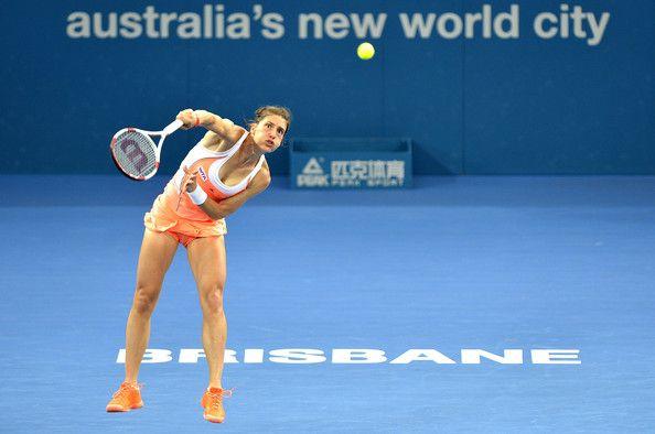 Andrea Petkovic Photos Photos Brisbane International Day 3 Brisbane Tennis Center Tennis