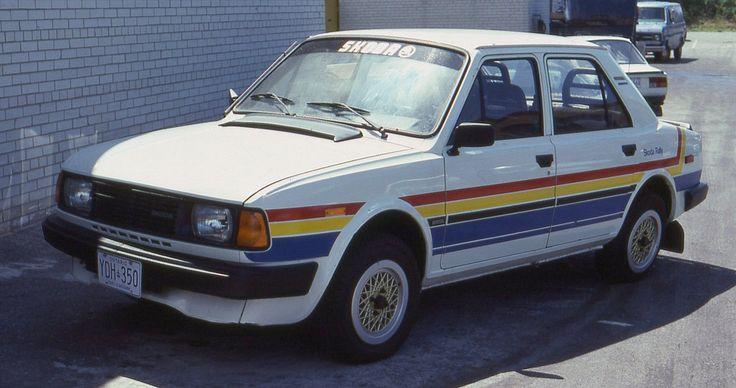 1985 Skoda 120 Rally GLS 4 door